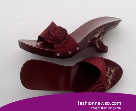 Sorts Of Type Traditional Sandals Tarumpah For The Agustusan