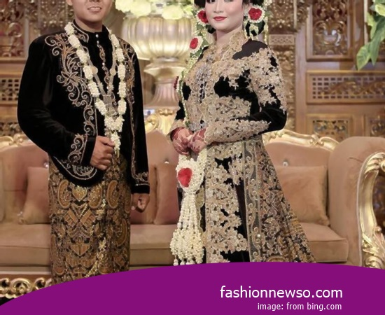 Various Motif Of Clothing Traditional Weddings The Belanga In Indonesia