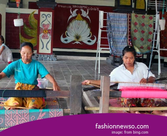 Wholesale Place Of Ulos Fabric Traditional Industrial Results In Indonesia