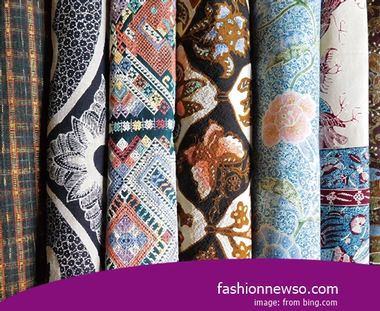 Sorts Motif Fabric Songket Traditional Ruteng In Indonesia