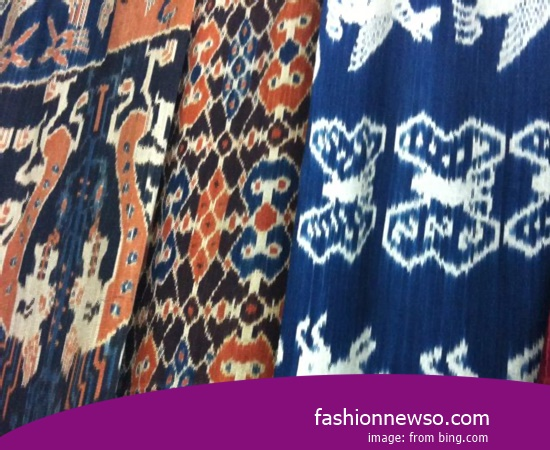 Multiple Models Ulos Fabric Traditional Sulawesi In Indonesia