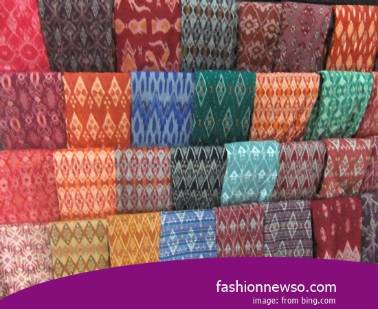 Sorts Type Ulos Fabric Traditional Wall Hangings In Indonesia