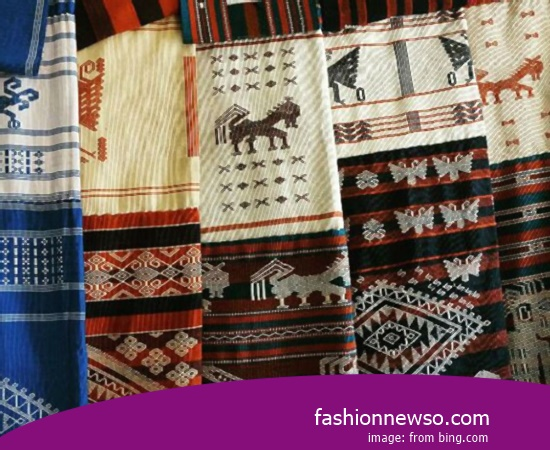 Sorts Type Ulos Fabric Traditional Cual In Indonesia